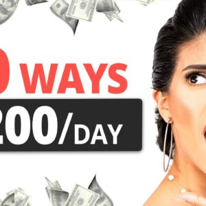 ($200/Day) 10 FAST Ways to Make Money Online in 2021 For FREE