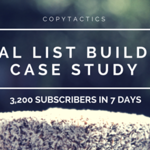 Viral List Building Case Study: 3,200 Subscribers in 7 Days