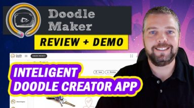 Doodle Maker Review and Demo - Doodle Maker Videos Made With AI