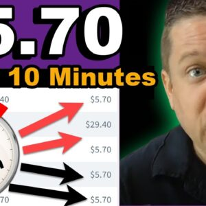 Earn $5.70 Every 10 Minutes? (Crazy Niche Revealed)