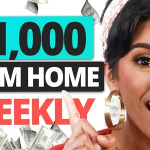 Get Paid $1000 from Home with These Websites | Marissa Romero