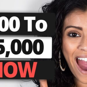 Have $100 To Start? DO THIS to get paid $5,000/Month with No Job!