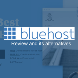 BlueHost Web Hosting Review and Its Alternatives | WPAll Club