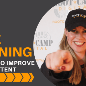 Free Digital Marketing Training: 63 Ways to Improve your Content
