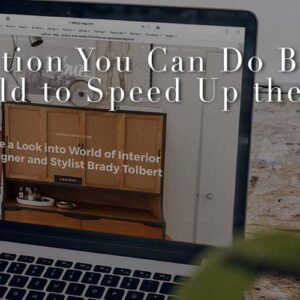 How You Can Speed Up Your Web Building