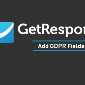 How to Add GDPR Fields in Your GetResponse Contact Forms - The Usual Stuff