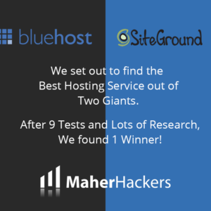 SiteGround VS Bluehost (May 2020): 11 Tests, Only 1 Winner!