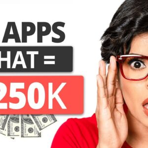 7 APPS I Use To Earn Income Online On AUTOPILOT ($250K with My Online Business)