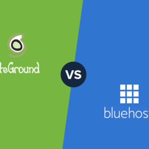 SiteGround vs Bluehost: Pricing & Features Comparison 2019
