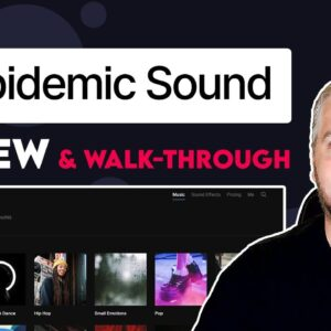 Epidemic Sound Review and Walkthrough | How Does Epidemic Sound Work?