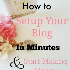 How to Start A WordPress Blog with BlueHost | two pink canaries