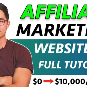How To Create An Affiliate Marketing Website For Beginners | FREE COURSE 2021