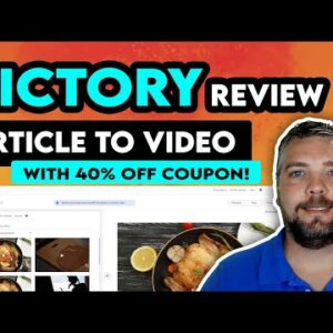 Pictory Review   Turn Articles Into Videos Using Pictory