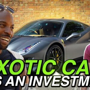 Understanding the Exotic Car Investment Game (w/ Tjmillionairementor)