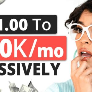 Turn $1.00 To $10,000/month Passively | No Job No Experience or Product Req'd