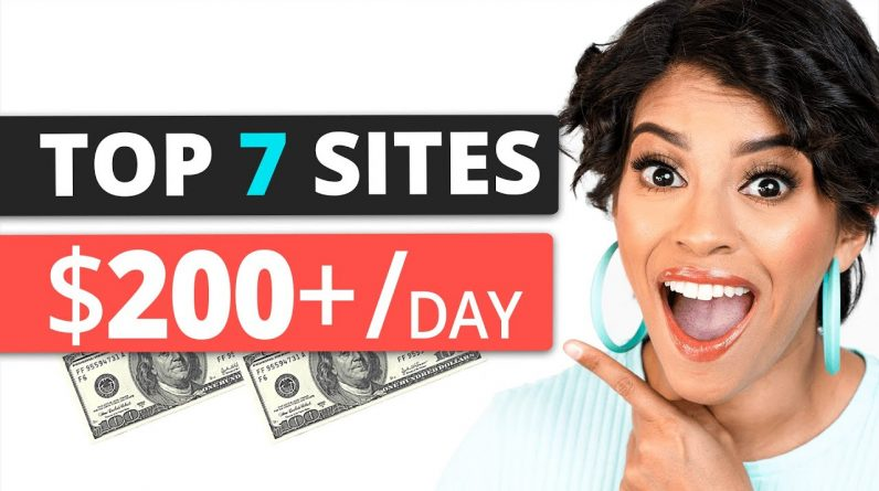 Top 7 Websites for Passive Income to Make $200/Day if you have NO Money